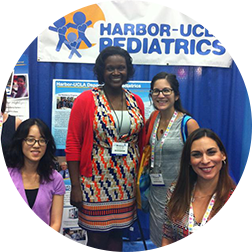 Beatrice Tetteh MD MPH with others from Habor-UCLA Pediatrics.